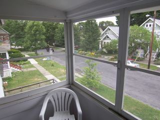 Ithaca apartment photo - Screened in Balcony Porch