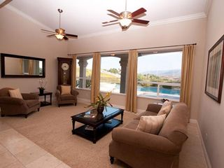 San Diego estate photo - Enjoy the Living Room w Beautiful Mountain Views.