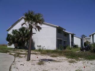 Port St. Joe townhome photo - Cape Villa Townhomes, Roadside View, Beachfront