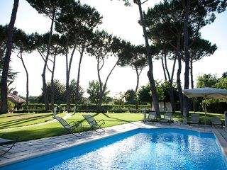 Monte Mario villa photo - swimming pool area