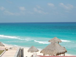 Cancun condo photo - This is our beach, just steps from your condo