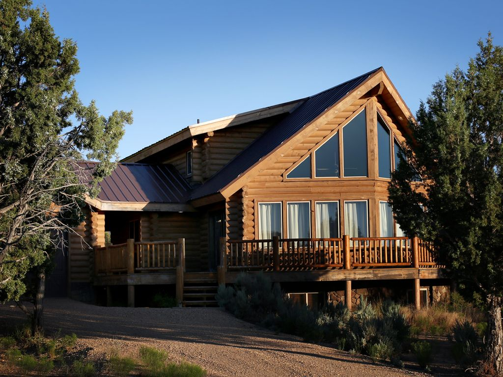 Amazing zion bryce sugar knoll meadows vrbo for Cabin rentals near zion national park