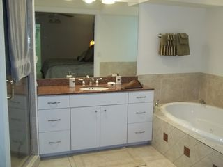 Sarasota house photo - Master bath with Jacuzzi tub and seperate shower