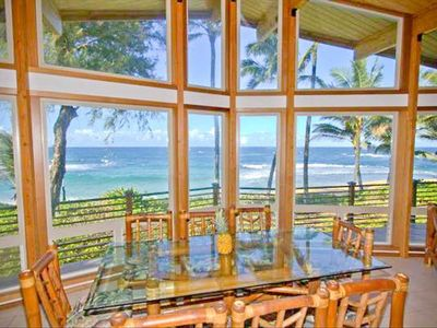 Breathtaking views from the kitchen and dining area!
