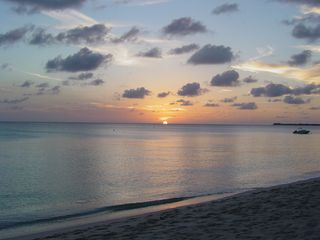 Grand Cayman condo photo - Another wonderful Plantana sunset