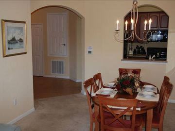 Entranceway, Kitchen and Dining Room