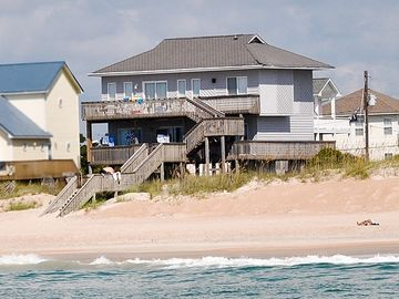 Surf City house rental - I'm on a boat!