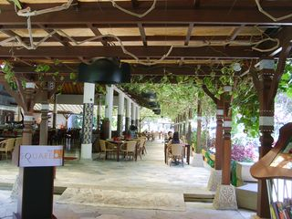 "Nusa Dua apartment photo - ""The Square"" - resort restaurant"