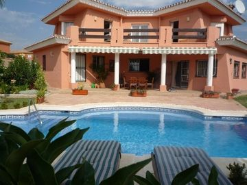 Guadalmina villa rental - Villa with seaview & private pool
