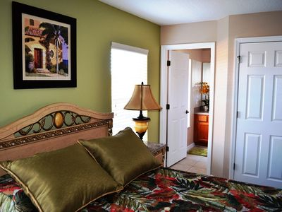 Encantada Resort house rental - Master Bedroom 2, on the second floor, with en-suite full bathroom.