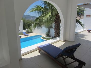 The view from Villa Dreams balcony