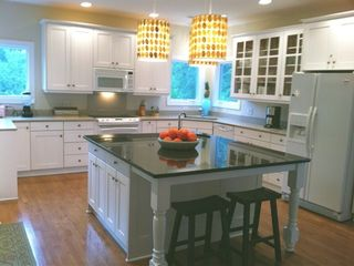 Bald Head Island house photo - The fully stocked kitchen can handle a big crowd very comfortably