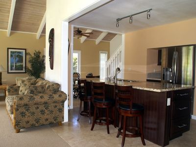 Poipu Garden Villa - Custom Kitchen
