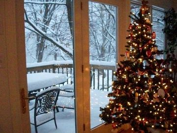 Your spectacular view of a winter wonderland