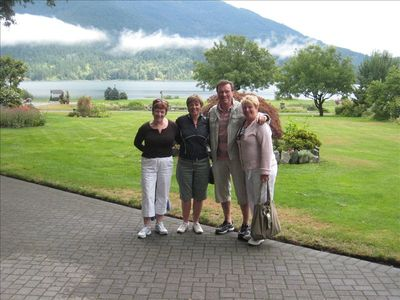 Friends and Relatives on the Chateau Golf course