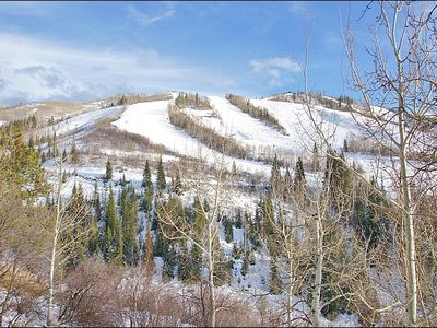 Steamboat Springs condo rental - This Amazing Ski Slope view is from this wraparound balcony.