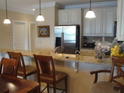 Kitchen w/ Granite Counter Tops