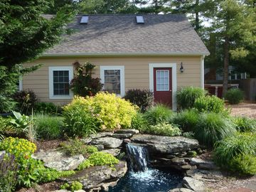 Falmouth studio rental - Detached garage, Studio on 2nd level