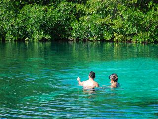 Tankah villa photo - Enjoy the Manati cenote, a short walk from the villa