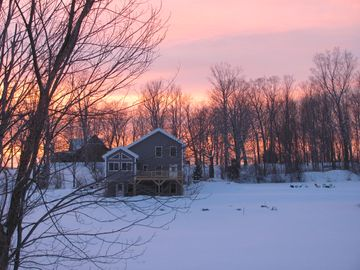 Winter 2013 sunset.