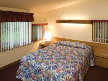 Master Bedroom at the Shawnee Village Resort