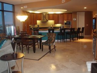 Perdido Key condo photo - View of Dining Area and Kitchen
