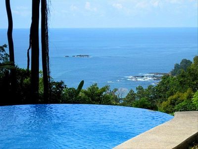 Dramatic Ocean & Whitewater View from the Infinity Pool