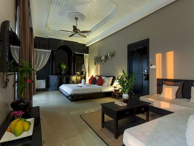 image for Top floor Suite, Balcony with pool view