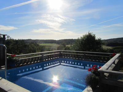 Coastal Villa with Panoramic Views, Pool, Jacuzzi, Large Terrace, Conservatory