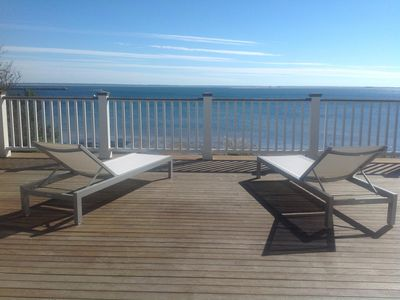 Relax on the 1000 square foot deck overlooking the Provincetown beach!