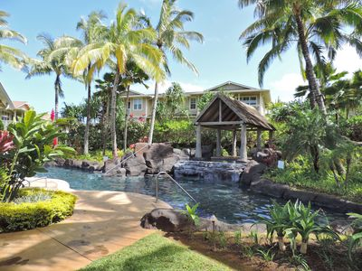 Luxurious Quiet Princeville Condo.Furnished as second home.Fabulous Pool!