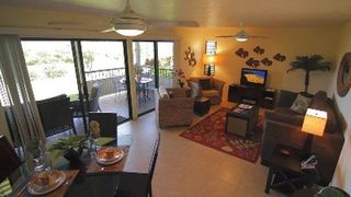Wailea condo photo - Newly furnished Living & Dining area