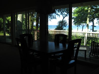Good Hart house rental - View from dining area