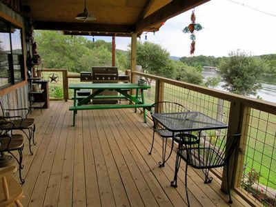 Enjoy coffee while watching the sunrise and wildlife on porch with sound system