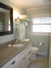 Wellfleet house photo - Quartz countertop full bath