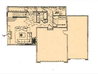 Park City house photo - Floor plan for lower level