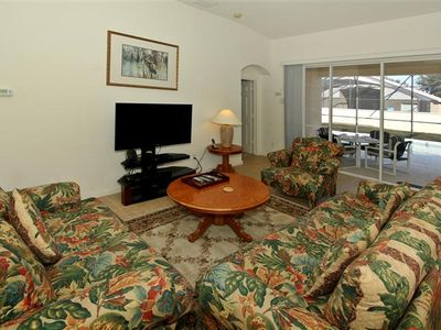 Windsor Palms house rental - Comfortable Living Room