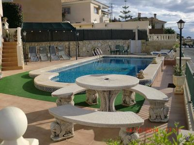 Holiday Home with Pool situated in quaint village of Busot, close to El Campello