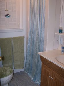 Bathroom with New Shower