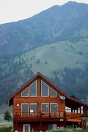 West Yellowstone house rental - Moose Lake with Beautiful Views of Mountains and Henry's Lake