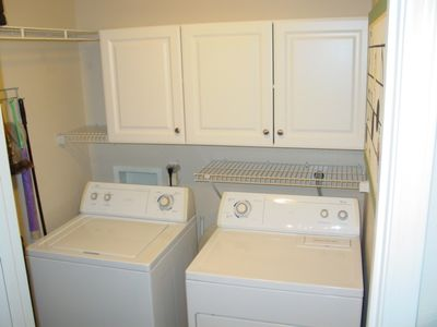 Full-Size Laundry Room Off Kitchen For Your Convenience