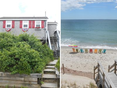 OCEAN FRONT BEACH HOUSE  NARRAGANSETT.....JERUSALEM........EAST MATUNUCK
