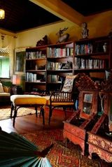 Ubud villa photo - Media room and Library is the perfect place to retire in the evenings