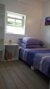 New Berth - aka the Harry Potter Room in Pelican - must share parents' bathroom!