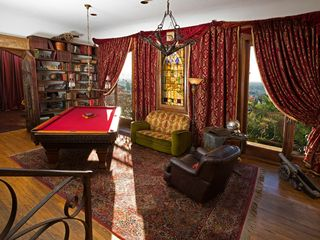 West Hollywood house photo - Pool table and 2nd floor living room, adjoining two junior suites.