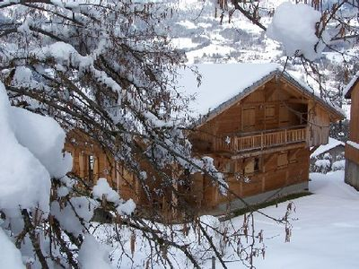 Samoens chalet rental - Chalet in winter