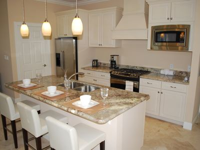 More Open Granite Kitchen Views