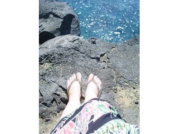 Hang Ten on the cliffs @ Kalae South Point & relax ~ Aloha