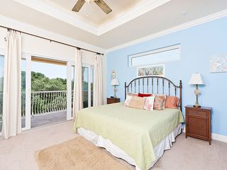 Ormond Beach house photo - Our 2nd floor bedroom has beautiful splashes of color