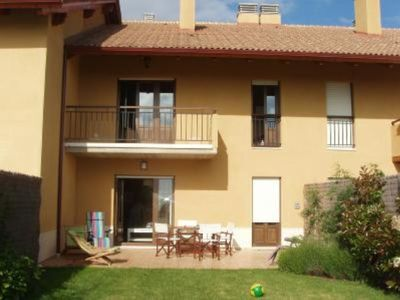 Groundfloor house with garden, located close to a golf club